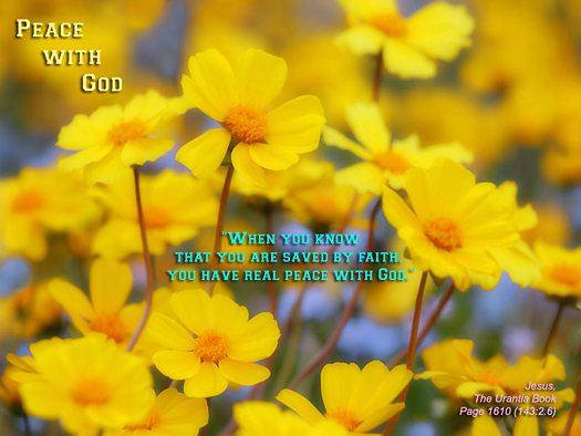 peace, God, yellow flowers