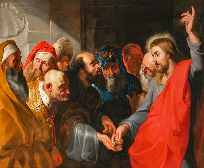 Rubens Render unto Caesar by Peter Paul