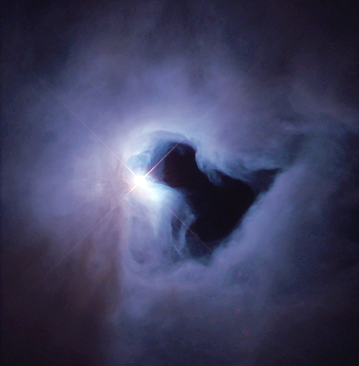 Reflection Nebula in Orion NGC 1999