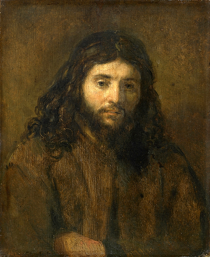 Bust of Christ by Rembrandt