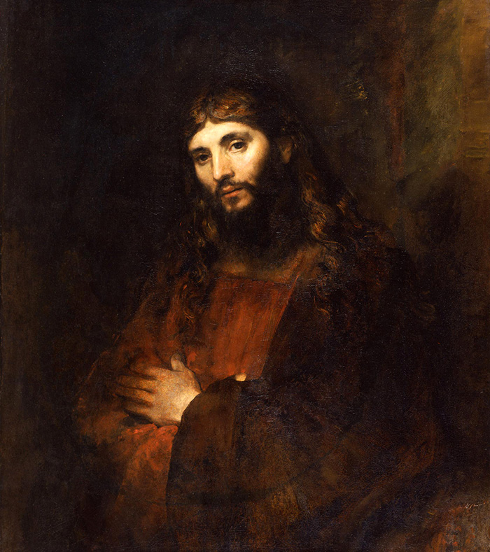 Portrait of Christ by Rembrandt