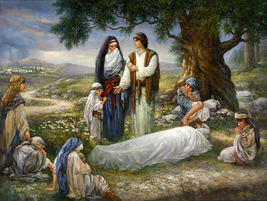 The Burial of Joseph by Russ Docken