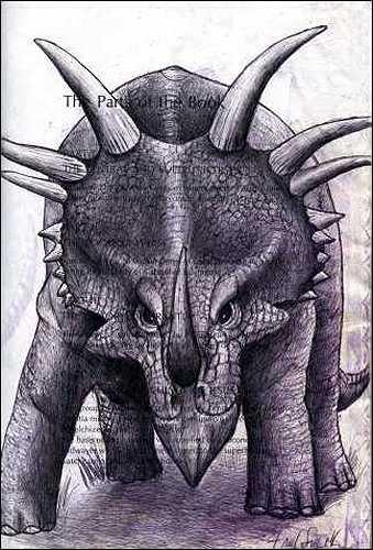 Stegosaurus by Fred Smith