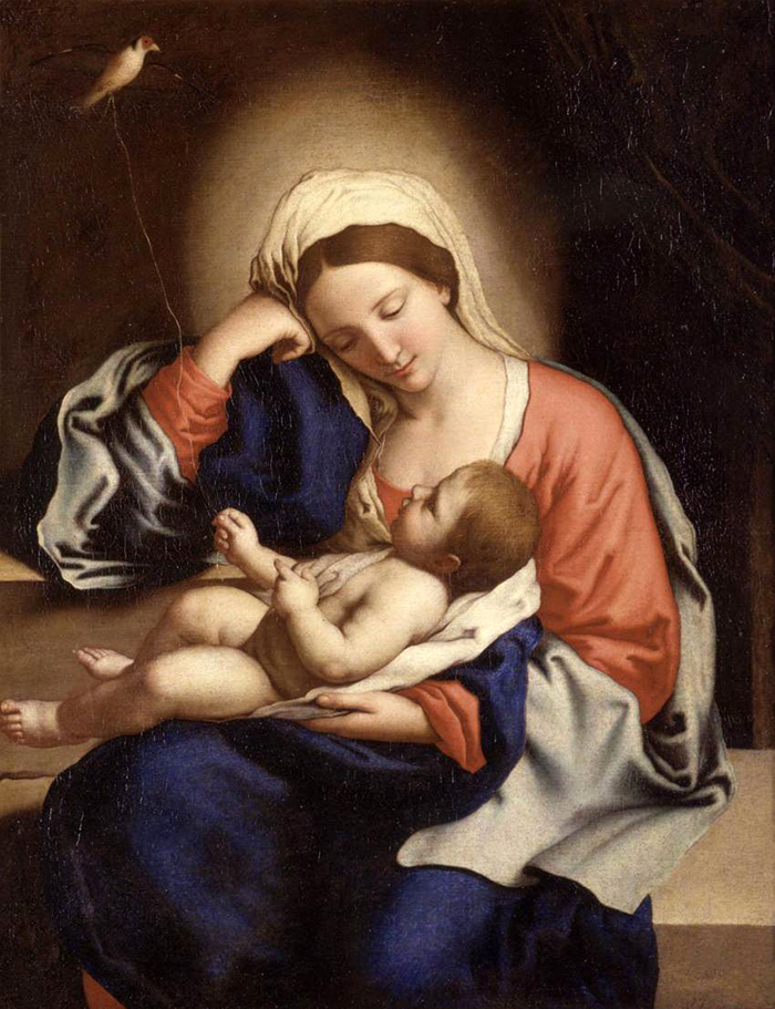 Madonna with the Christ Child by Sassoferrato
