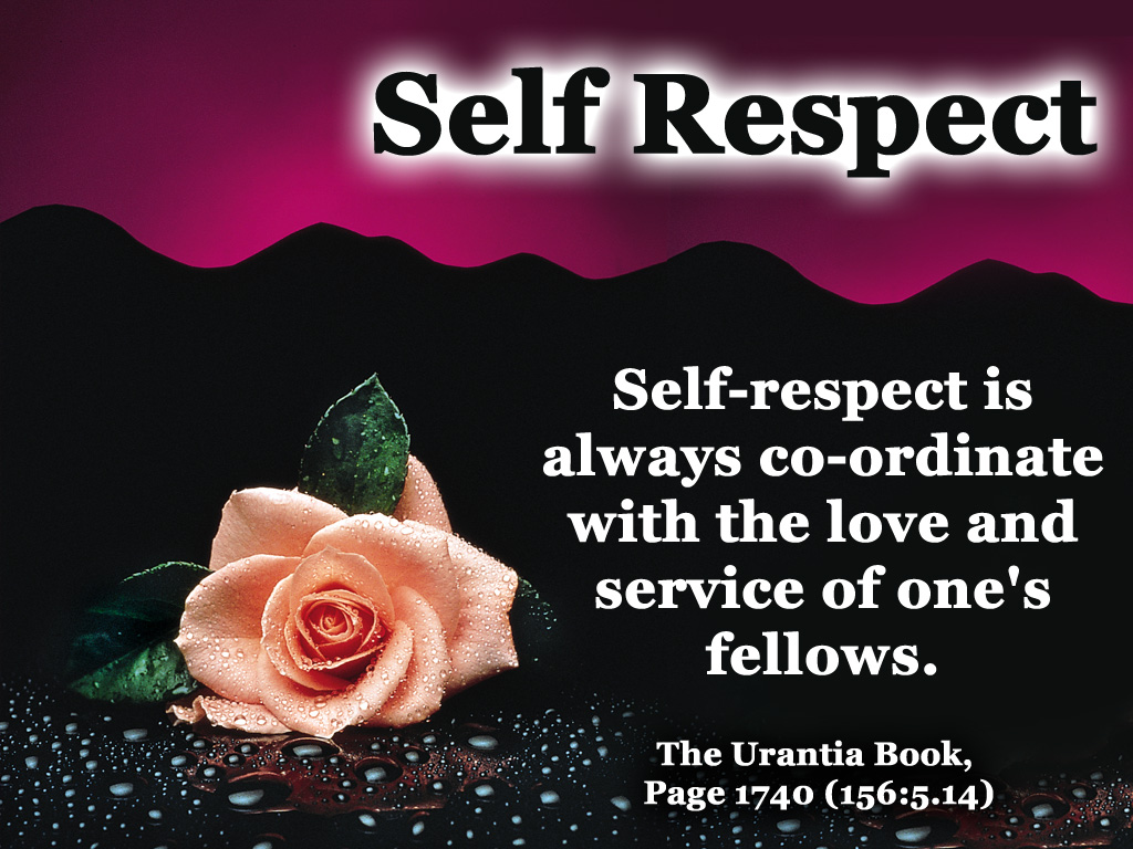 How to grow self respect, Seekyt
