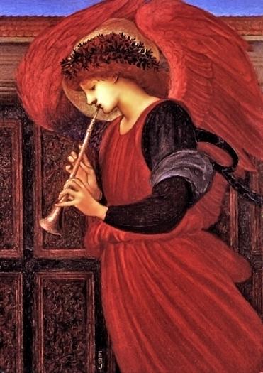 An Angel by Sir Edward Coley Burne Jones