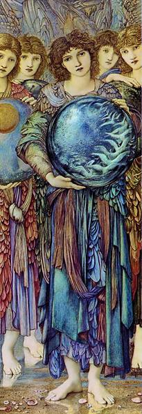 Angels of Creation by Sir Edward Coley Burne Jones