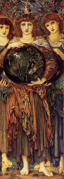 Angels of Creation by Sir Edward Coley Burne Jones