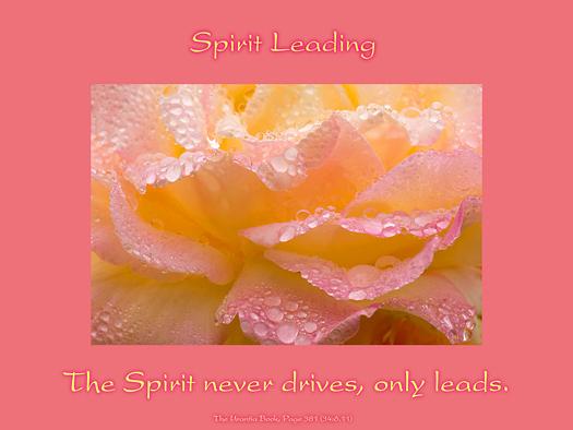Spirit Leading