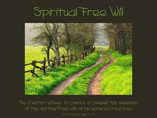 Spiritual Free Will