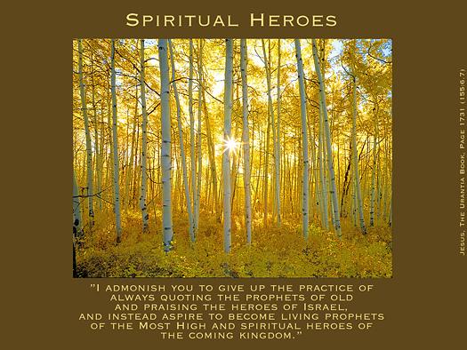 Spiritual Heroes