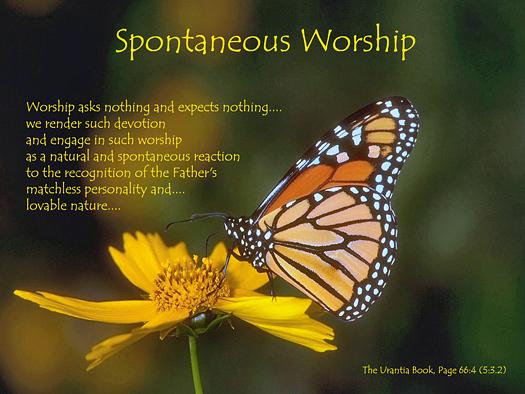 Spontaneous Worship