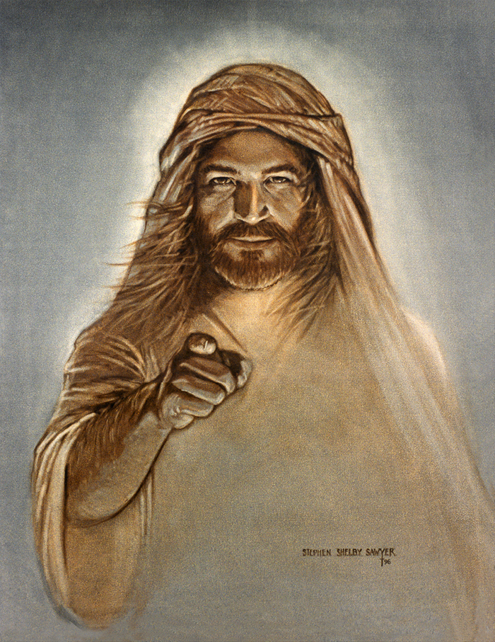 Jesus of Nazareth by Stephen Sawyer