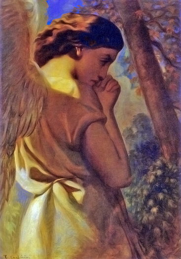 The Angel by Theodore Chaisseriau