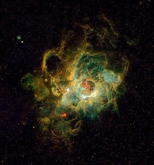 Triangulum Emission Nebula NGC 604