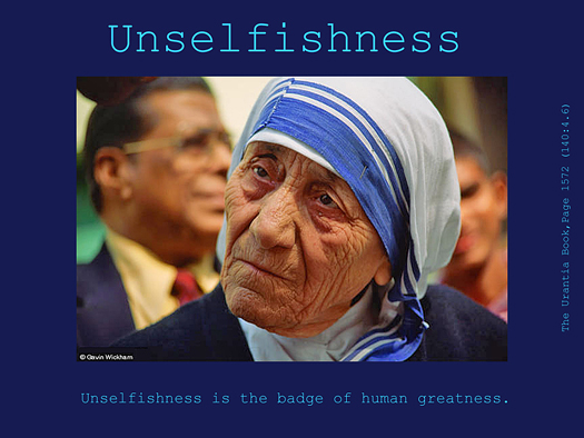 Unselfishness - Quote of the Day