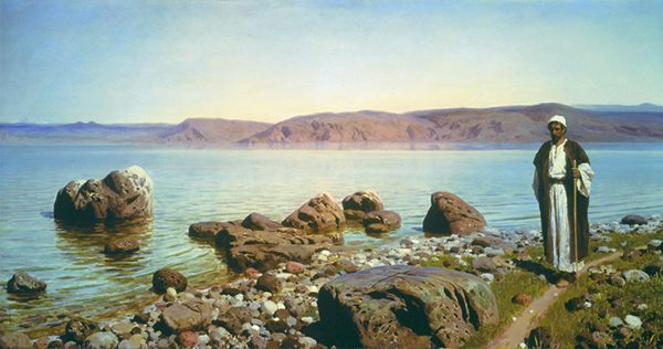 At the Genisaret Lake by Vasily Polenov