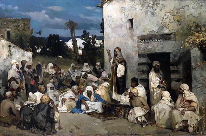 The Sermon at Capernaum by Vasily Alexandrovich Kotarbinsky