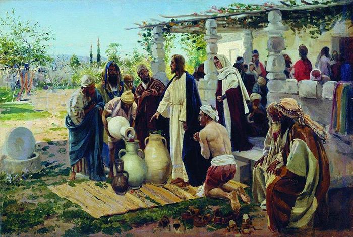 Miracle at Cana by Vladimir Makovsky