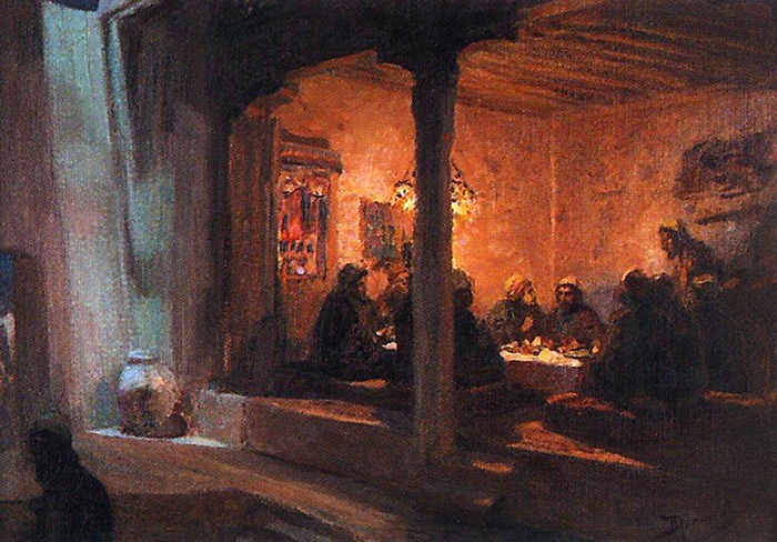 Lord's Supper by Wassilij Dimitriewitsch Polenow