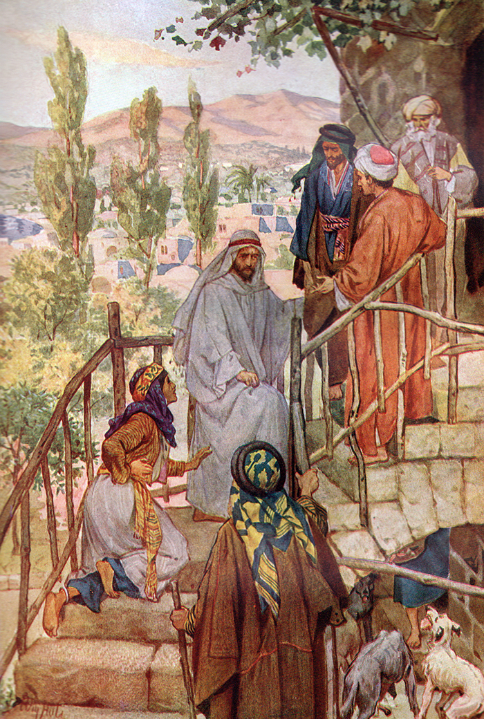 Jesus Heals The Canaanite Woman's Daughter by William Hole