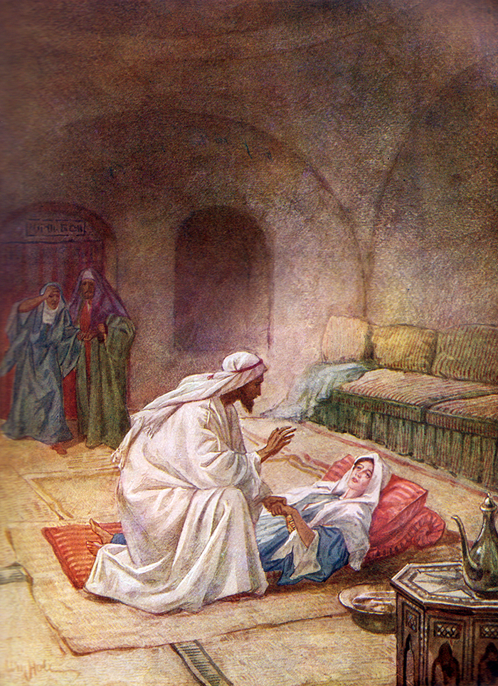 Jesus Heals the Daughter of Jairus by William Hole