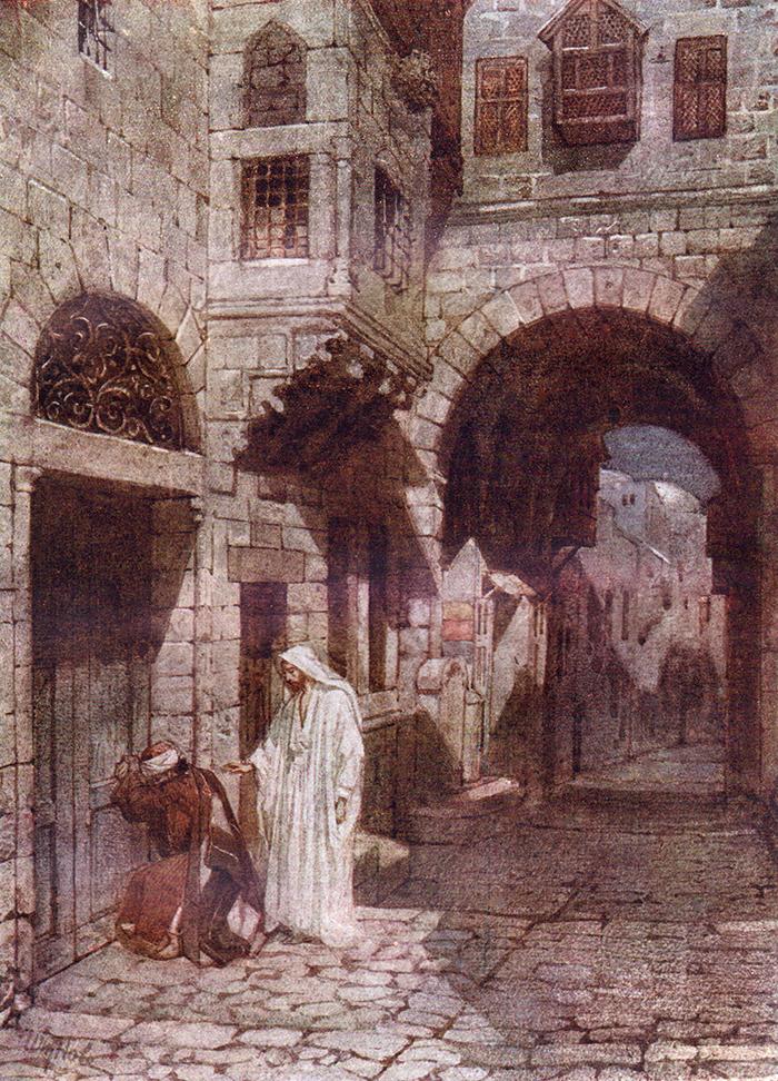 Jesus Pardons Peter by William Hole