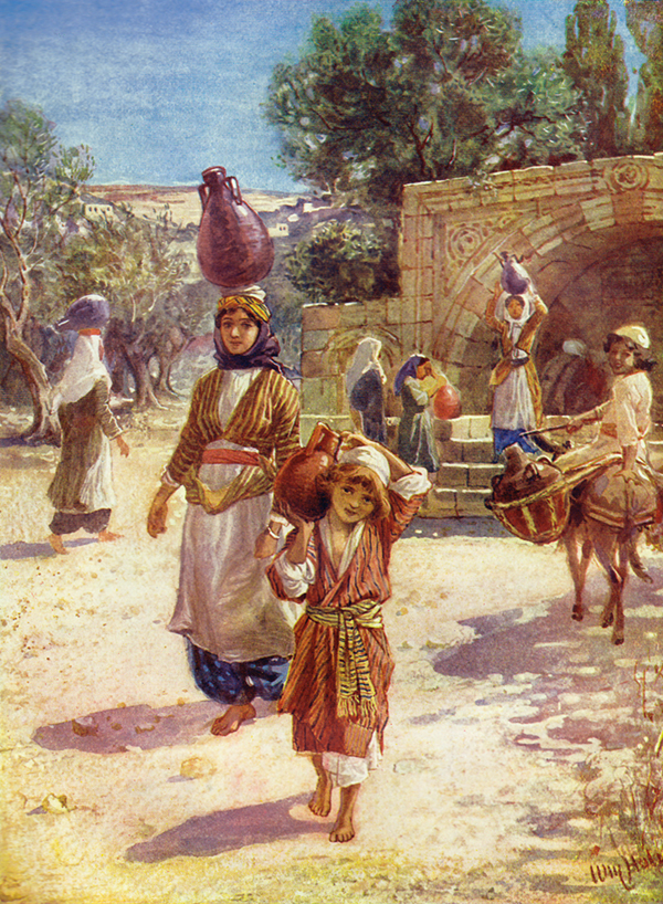 Jesus as a Boy in Nazareth by William Hole