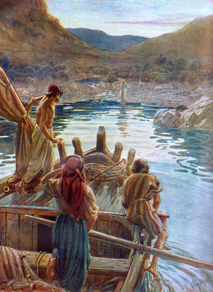 The Appearance At The Sea Of Tiberias by William Hole