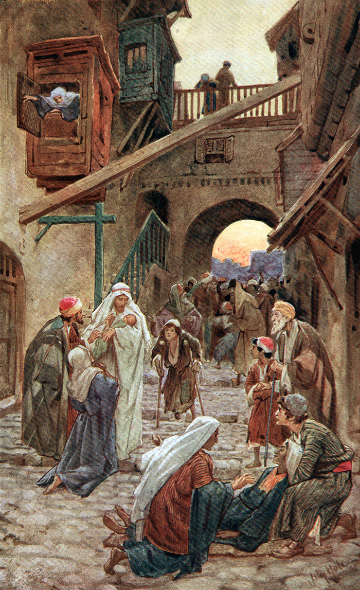 The Sick Are Laid In The Street by William Hole