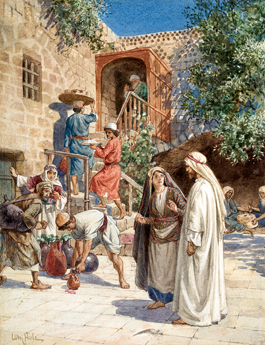 The Wedding at Cana by William Hole