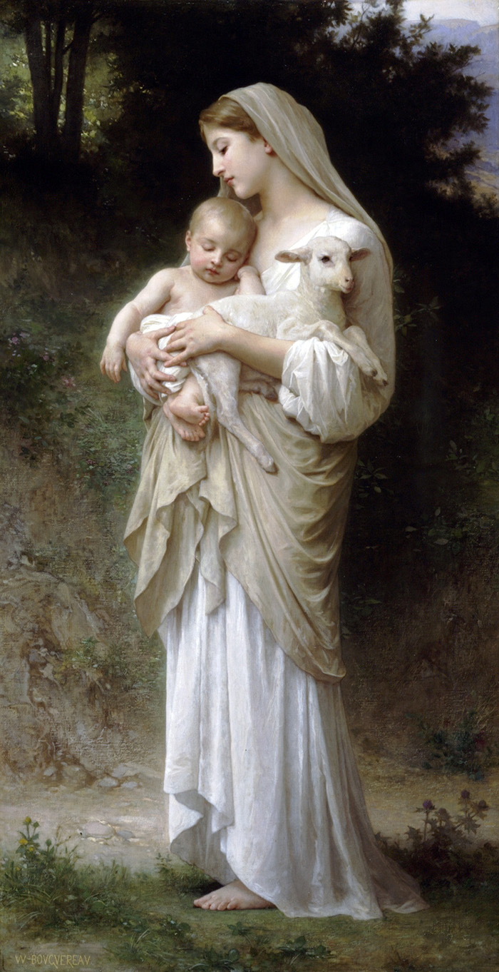 L'Innocence by William-Adolphe Bouguereau
