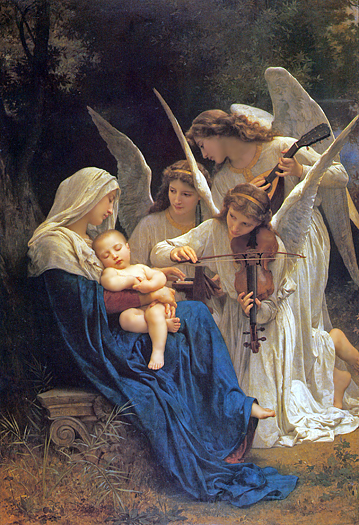 Song of the Angels by William Adolphe Bouguereau
