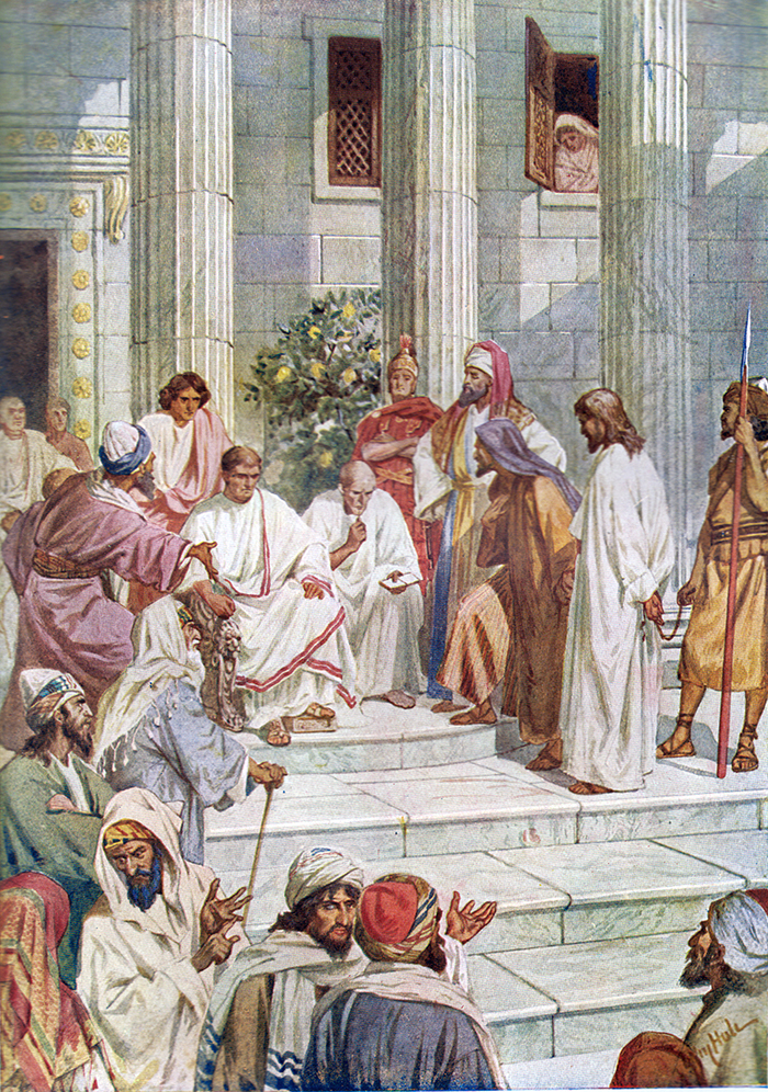 Jesus Before Pilate by William Hole