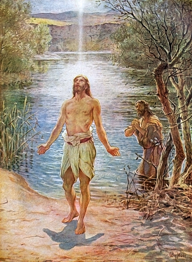The Baptism of Jesus by William Hole
