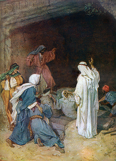 The Resurrection Of Lazarus by William Hole