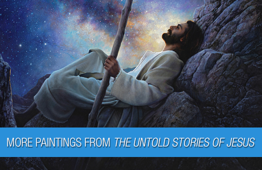 More Paintings from The Untold Story of Jesus