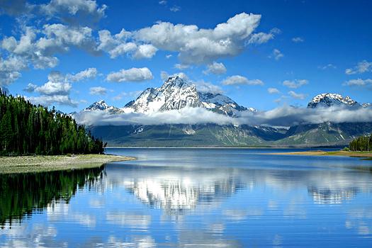 Lake Jackson in Grand Teton National Park