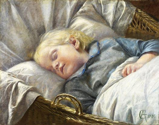 Peaceful Sleep by Aage Giodesen