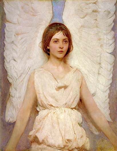 An Angel by Abbot Handerson Thayer