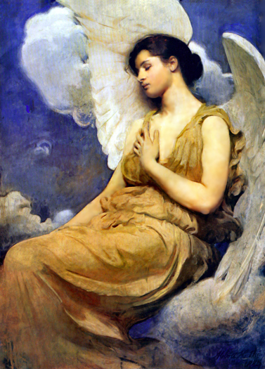 Winged Figure by Abbot Handerson Thayer