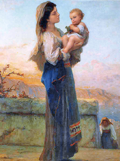 Madonna and Child by Adolphe Jourdan