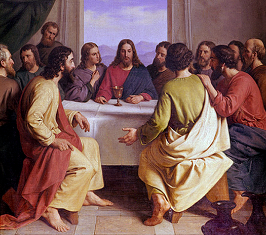 The Last Supper by Andreas Herman Hunaeus