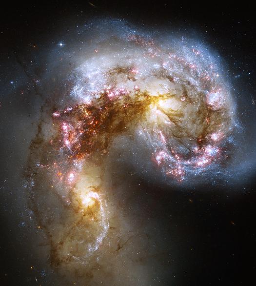 Antennae Galaxies NGC 4038 4039