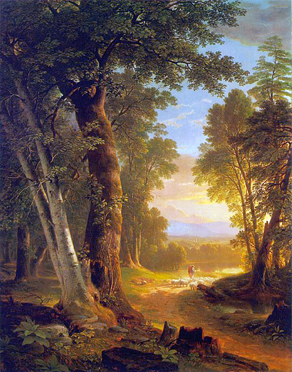The Beeches by Asher B Durand