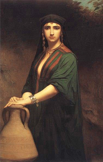 A Fellah Woman by Charles Zacharie Landelle