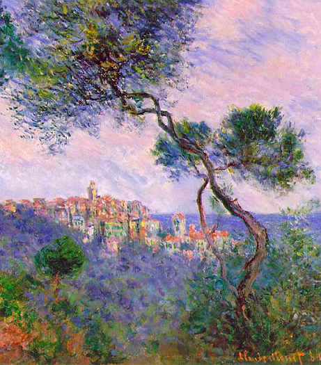 Bordighera Italy by Claude Monet