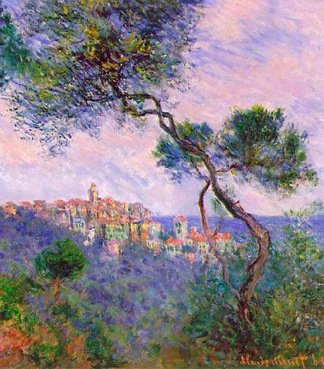 Bordighera Italy by Claude Monet