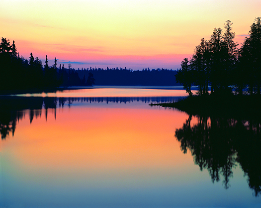 Sunrise Over Bisk Lake, Ontario, Canada