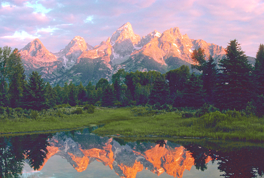 Sunrise, Grand Tetons